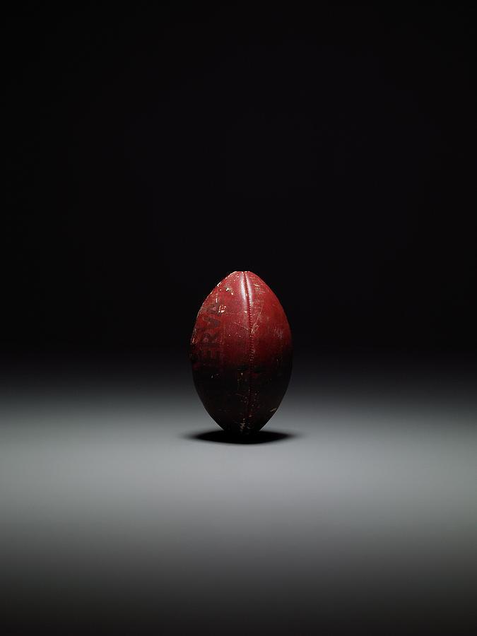 American Football, Studio Shot Photograph by Max Oppenheim