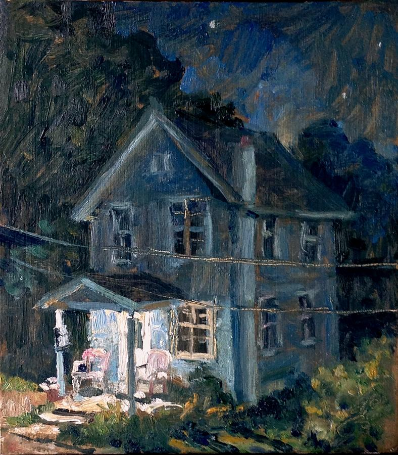 American Front Porch Nocturne by Thor Wickstrom