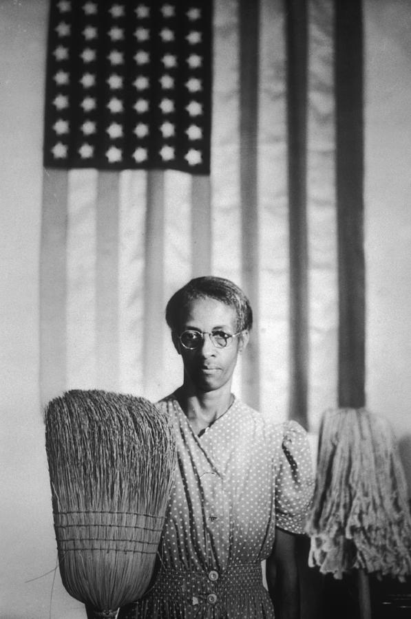 American Gothic Photograph by Gordon Parks