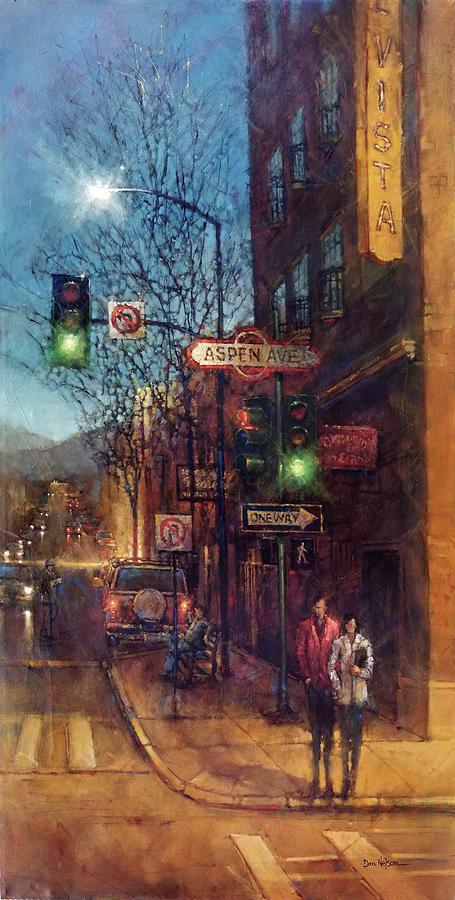 American Intersection, Flagstaff, Az Painting