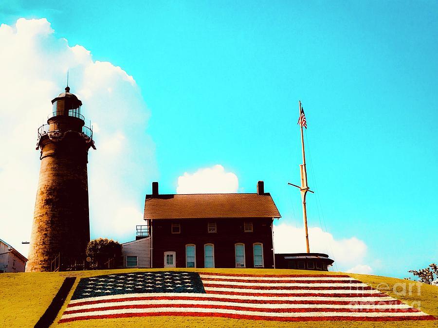 American Lighthouse Photograph