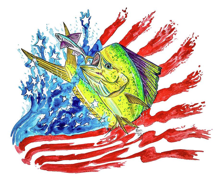 American Mahi Mahi by Mark Ray