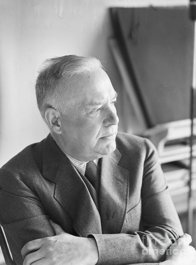 American Poet Wallace Stevens Photograph by Bettmann