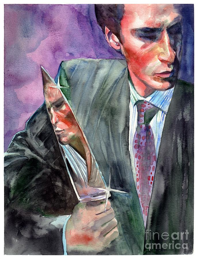American Psycho Painting - American Psycho Painting by Suzann Sines