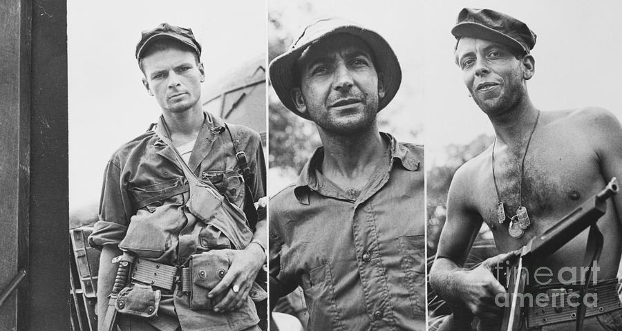 American Rangers Who Led Prizon Camp Photograph by Bettmann