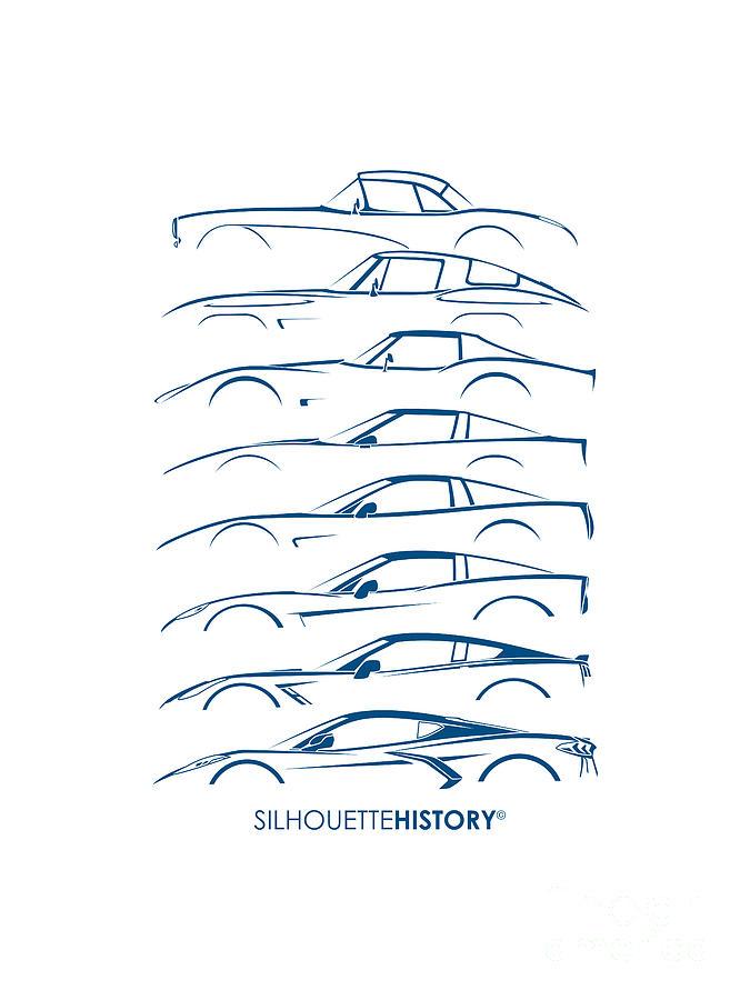 American Sports Car 8G SilhouetteHistory by Gabor Vida