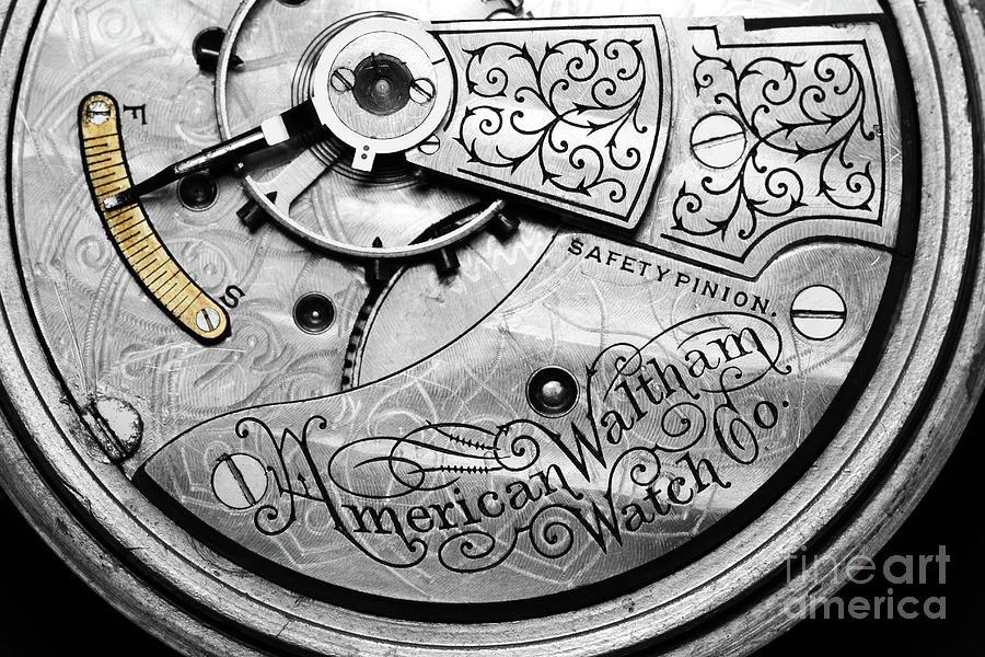 American Waltham Pocket Watch by Judy Whitton