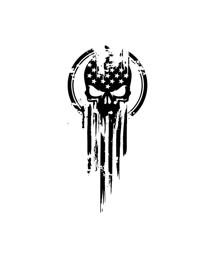 american warrior flag skull military army veteran digital art by edward hyett american warrior flag skull military army veteran by edward hyett