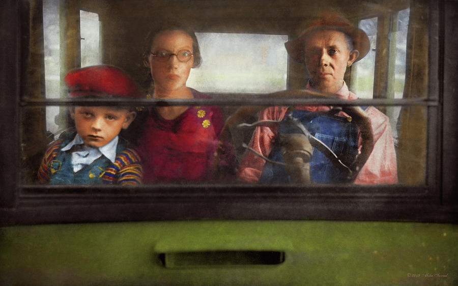 Americana - Are we there yet 1941 by Mike Savad