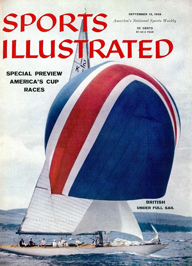 Americas Cup Preview Sports Illustrated Cover Photograph by Sports Illustrated
