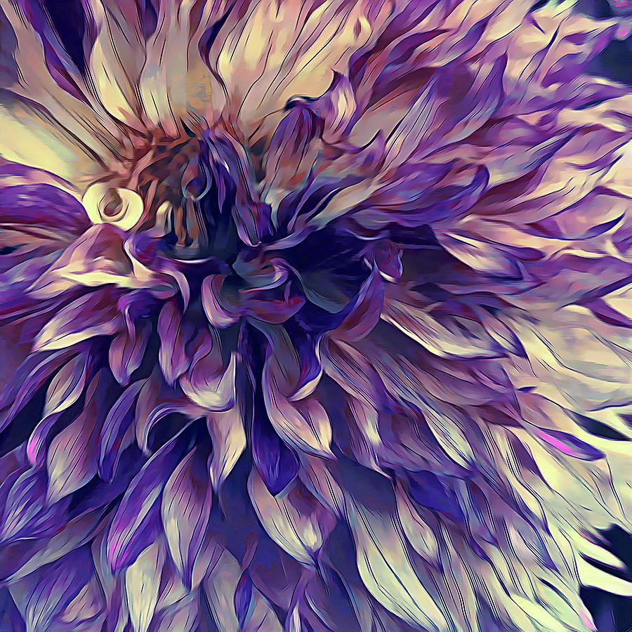Amethyst Bloom by Cindy Greenstein