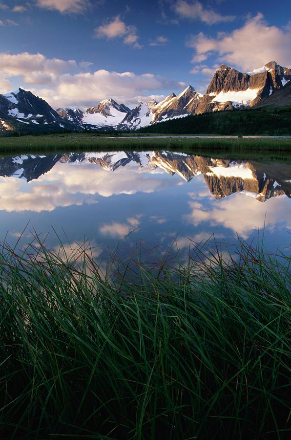 Amethyst Lakes, Jasper Natl Park Photograph by Art Wolfe