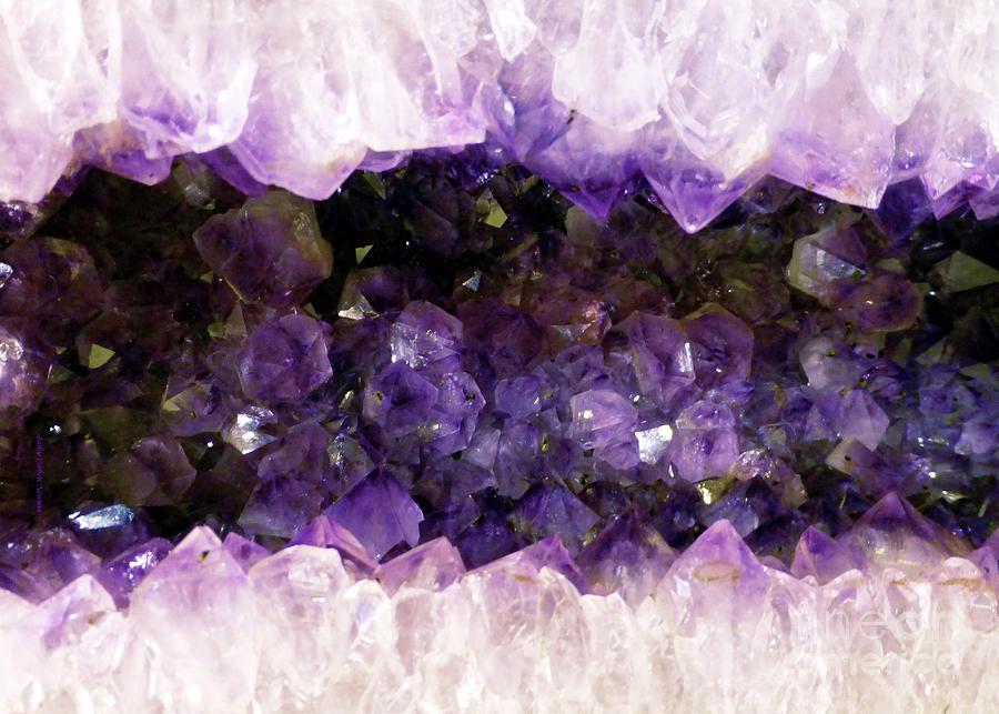 Amethyst Quartz Geode  by Barbie Corbett-Newmin