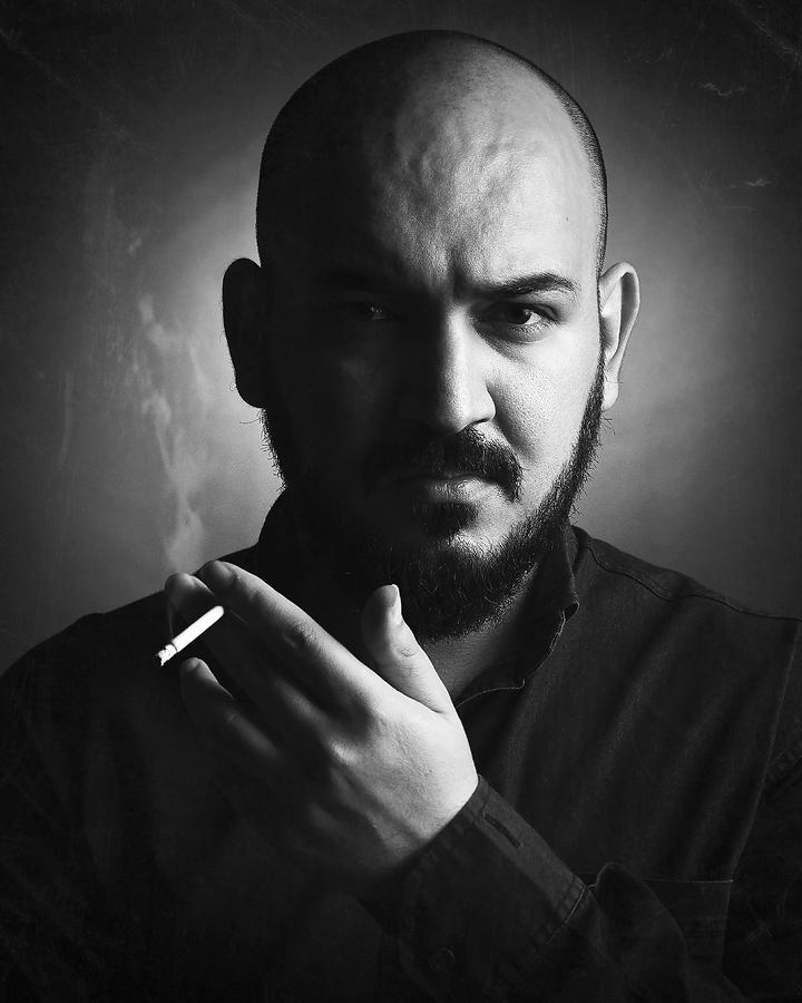 Eyes Photograph - Amir Heydari by Amir Heydari