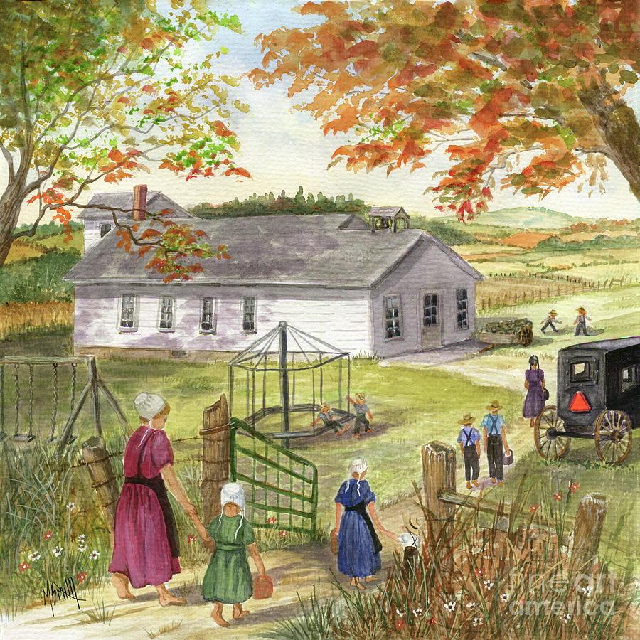 Amish School Days by Marilyn Smith