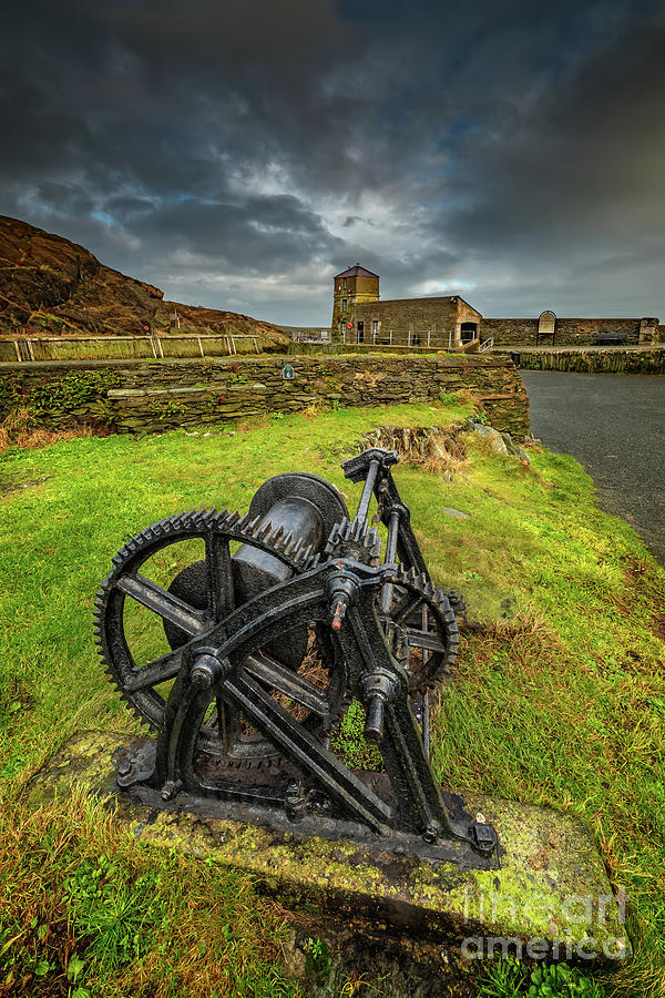 Amlwch Harbour Anglesey by Adrian Evans