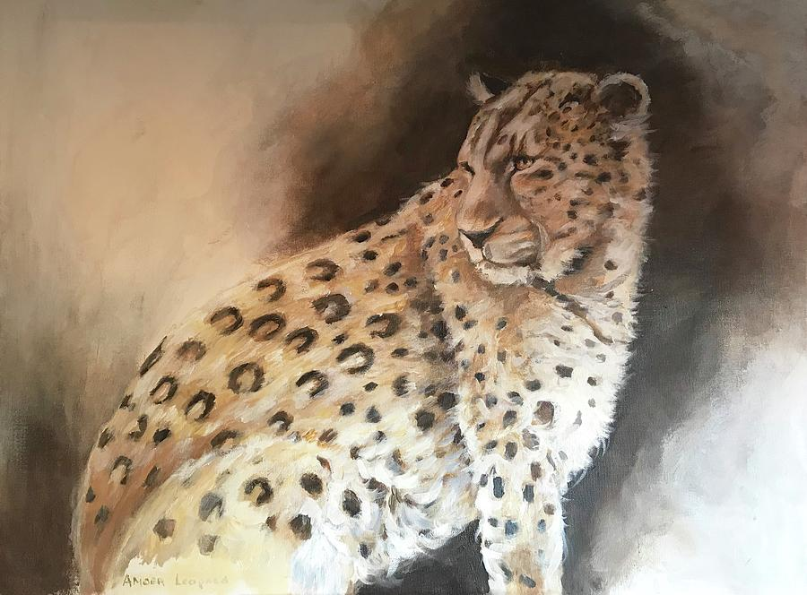 Amoer Leopard Painting