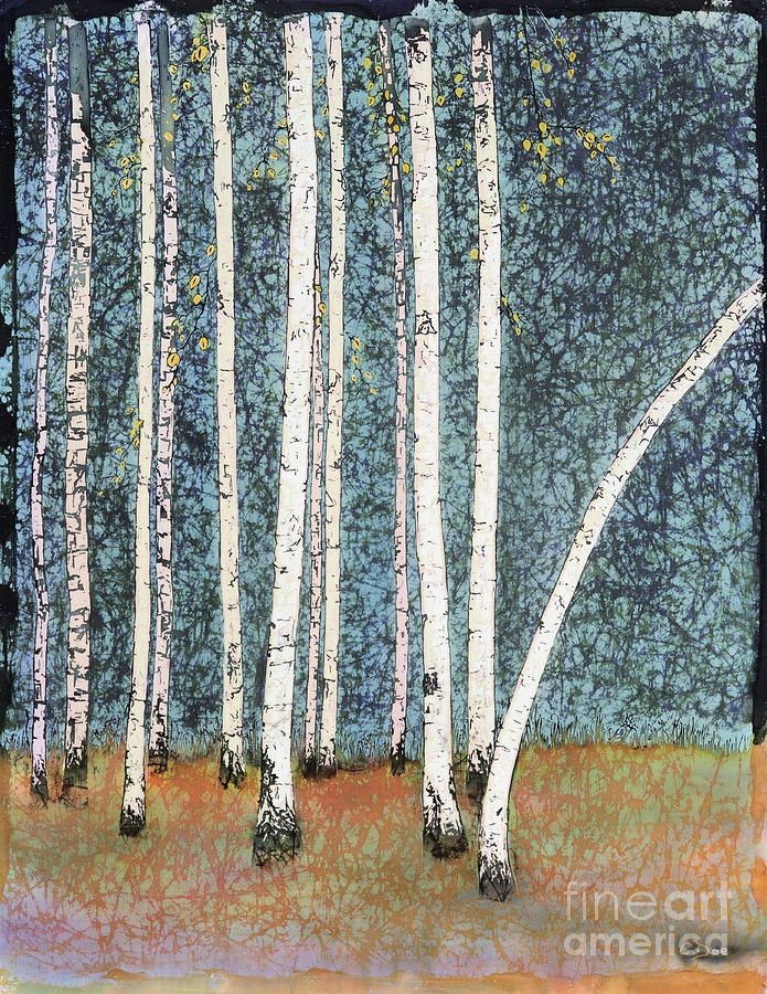Among The Birch by Carolyn Doe