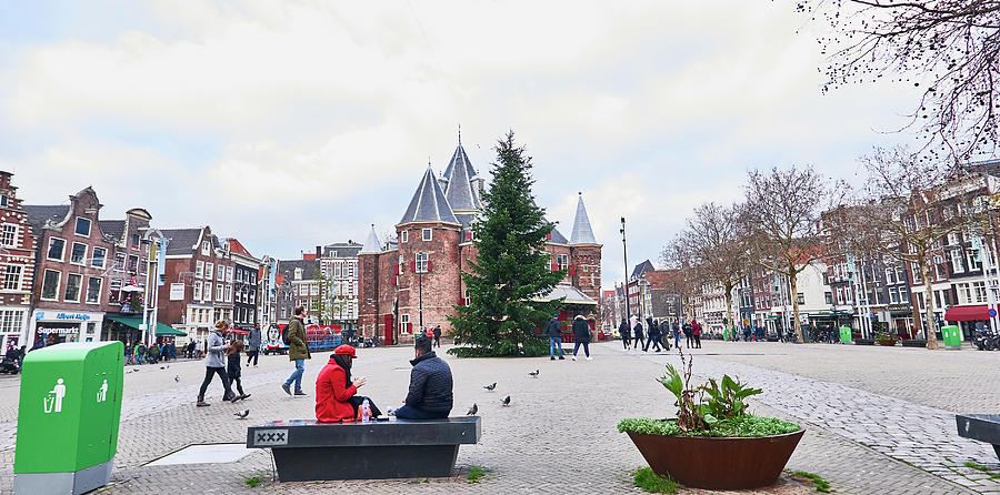 Amsterdam Photograph - Amsterdam Christmas by Charles Quiles