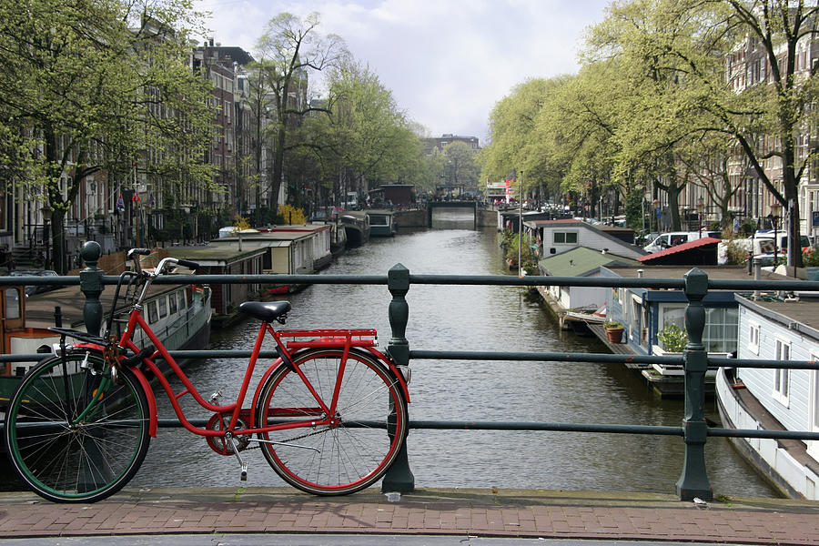 Amsterdam City Scene Photograph by W-ings