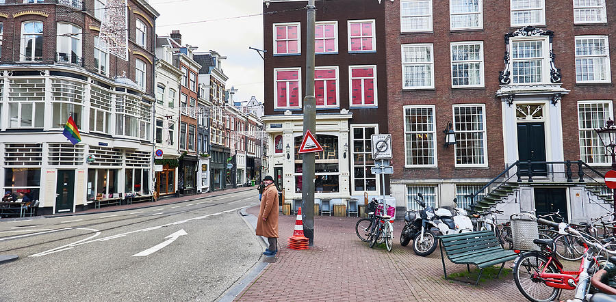 Amsterdam Photograph - Amsterdam Pride by Charles Quiles