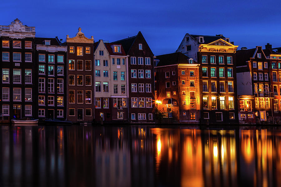Amsterdam Photograph - Amsterdam Reflections by Andrew Soundarajan