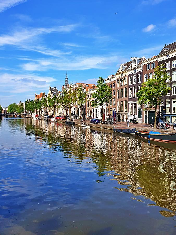 Amsterdam Summer Day by Andrea Whitaker