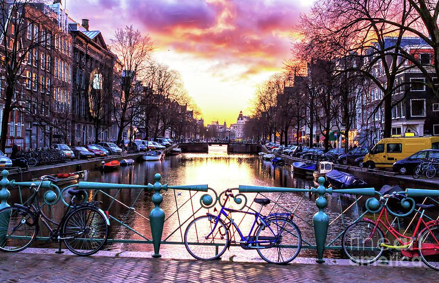 Amsterdam Sunset by John Rizzuto