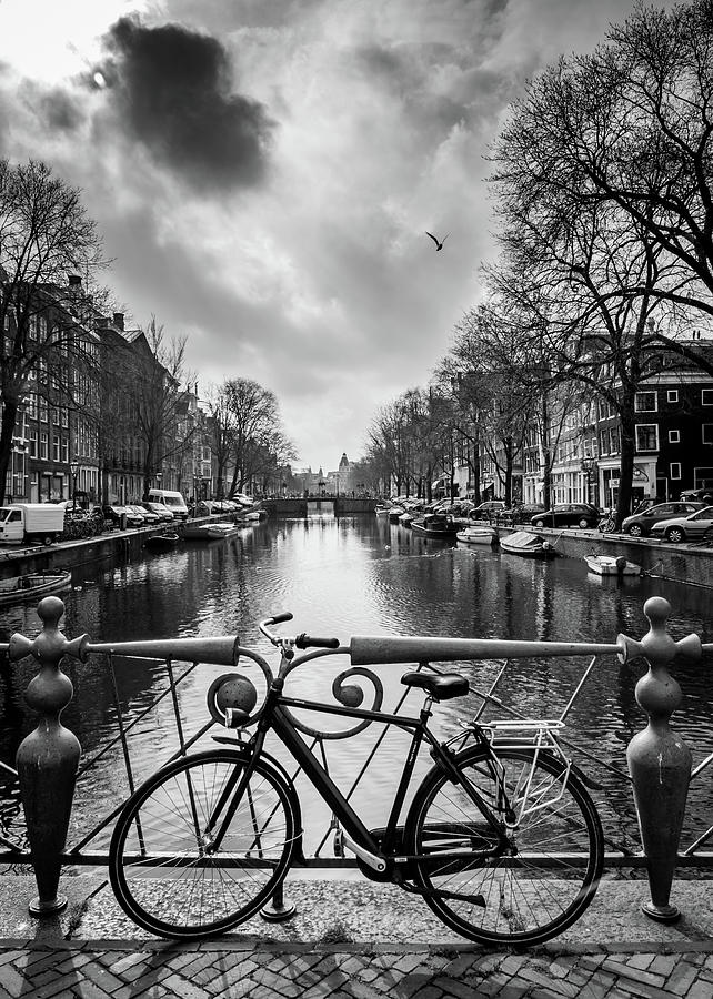 Holland Photograph - Amsterdam View by Framing Places