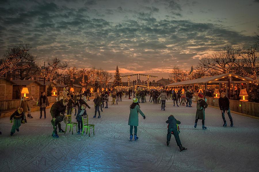 Amsterdam Photograph - Amsterdam Winter Wonder Land by Gerrit De Groot