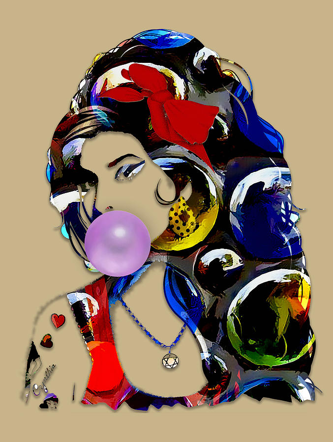 Amy Jade Winehouse by Marvin Blaine