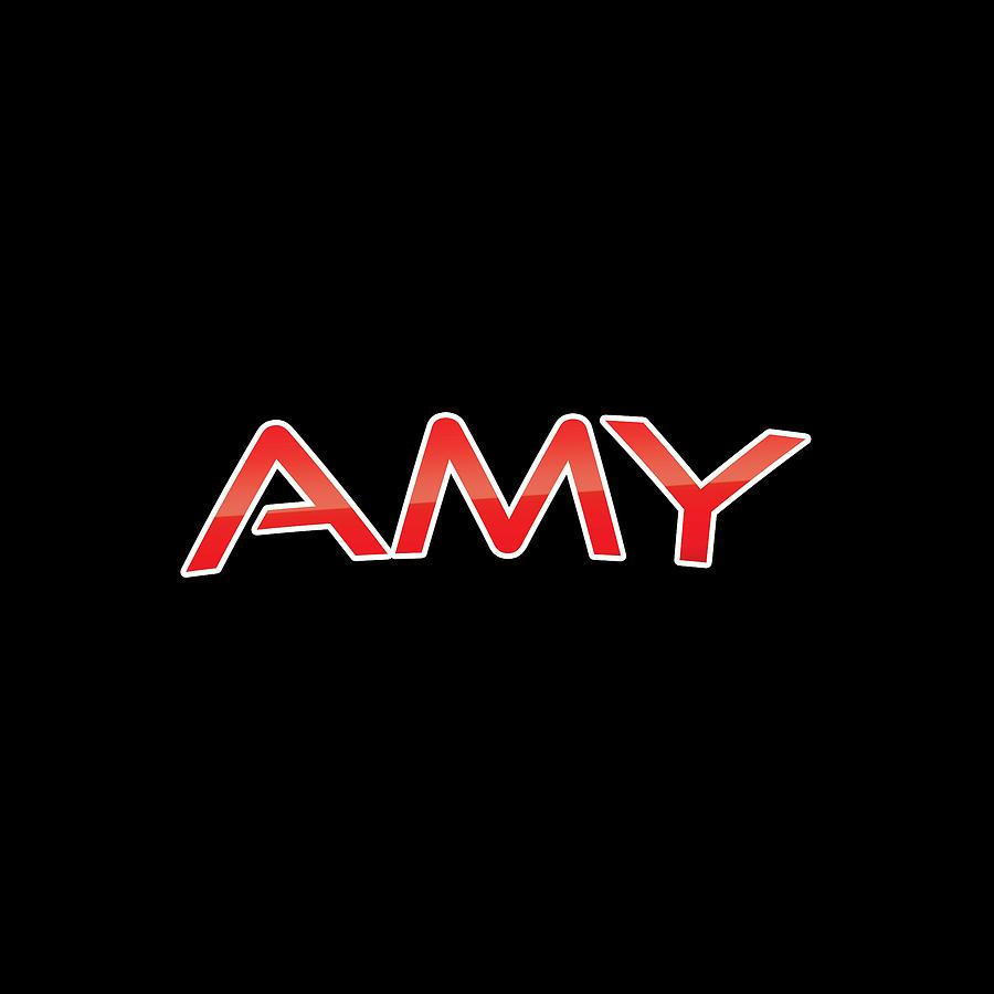Amy Digital Art - Amy by TintoDesigns