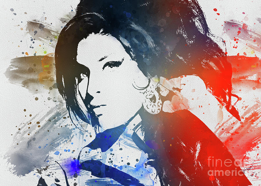 Amy Winehouse by Ian Mitchell
