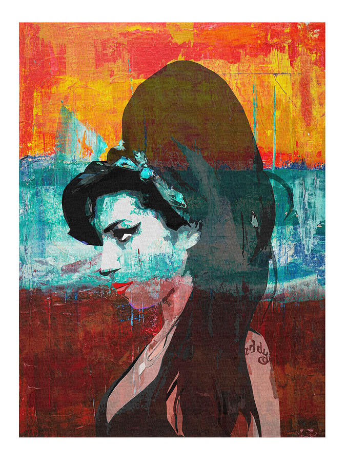 Amy Winehouse Digital Art - Amy Winehouse by Regina Wyatt
