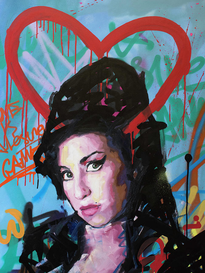 Amy Winehouse by Richard Day