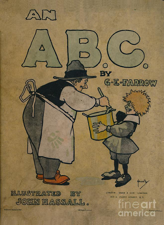 An Abc Of Everyday People  - Front Page Drawing by Print Collector