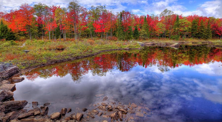 An Adirondack Autumn by David Patterson