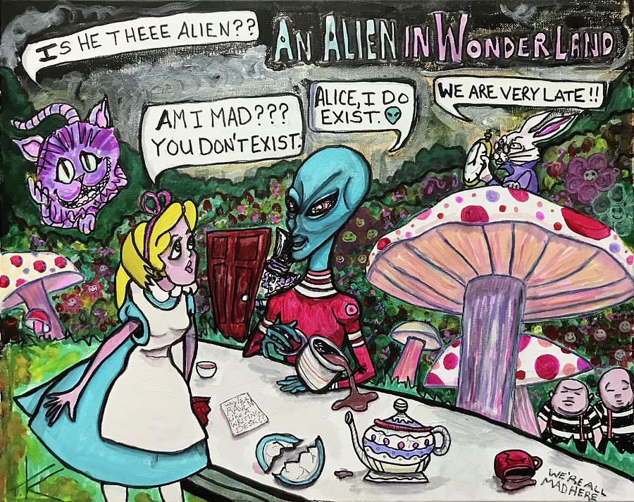 An Alien in Wonderland by Similar Alien