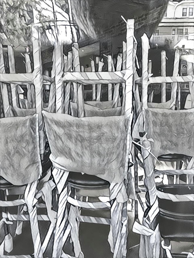 An Army Of Chairs Digital Art