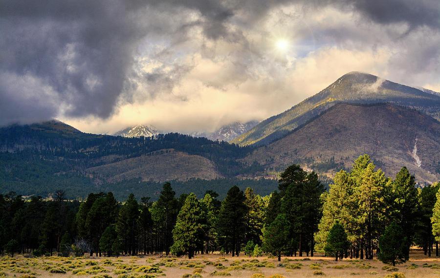An Autumn Afternoon On The Peaks  by Saija Lehtonen