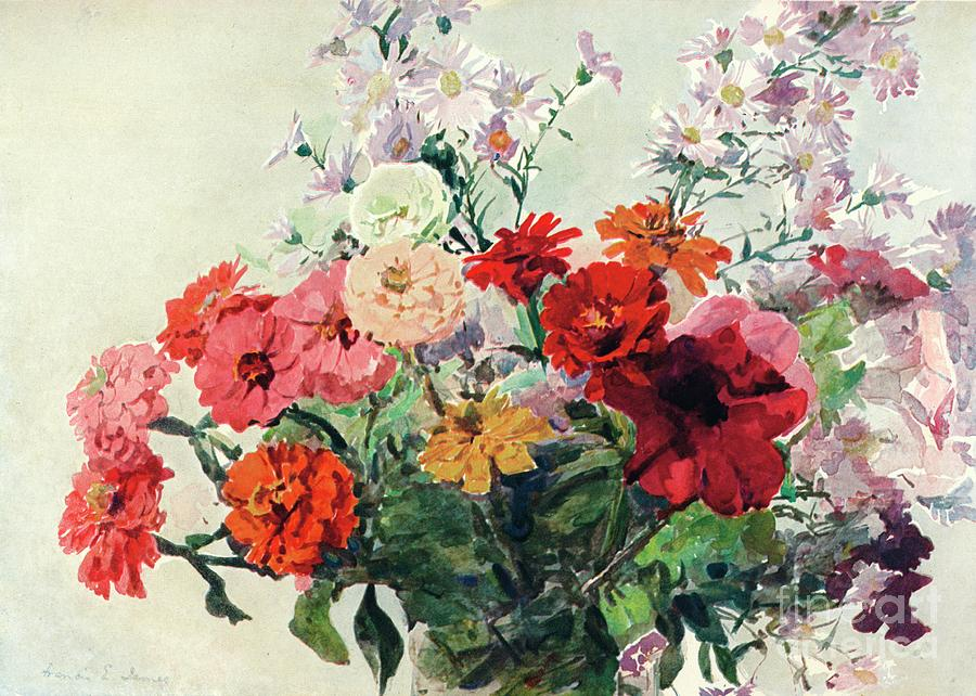 An Autumn Bunch, C1869-1906, 1906 Drawing by Print Collector