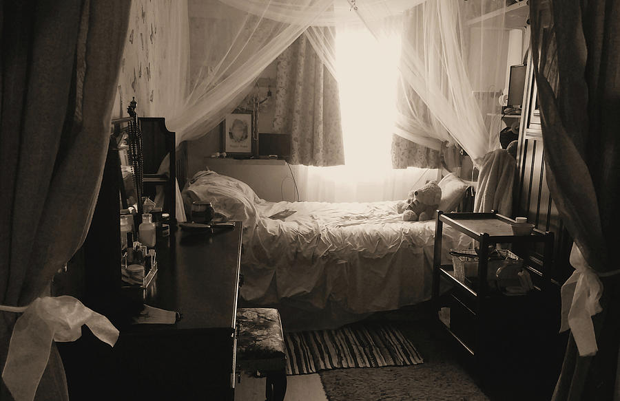 An English Boudoir by Kathy K McClellan