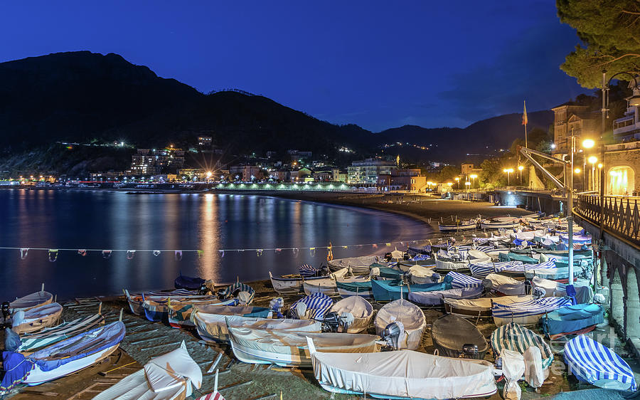 An Evening in Levanto by Fabrizio Malisan