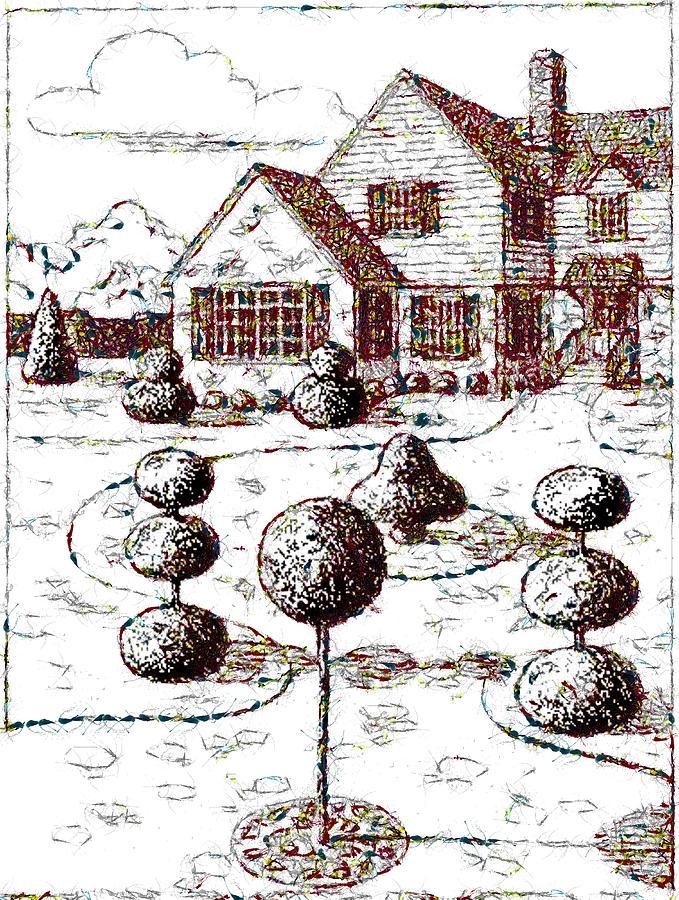 An Idyllic Home by Mario Carini
