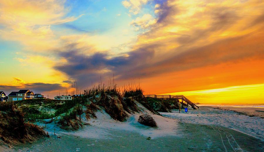 An Idyllic Morning At The Beach  by John Harding