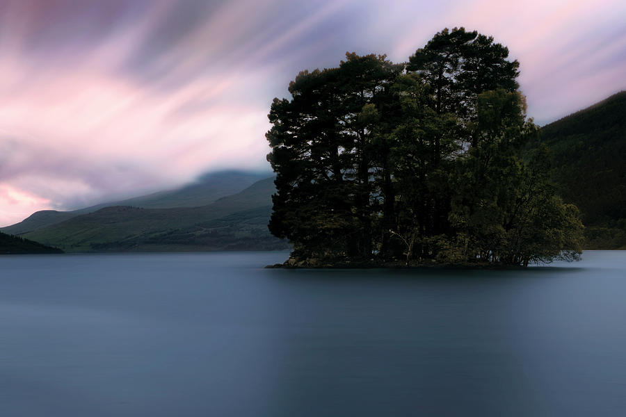 An Isle of Spar Sunset - Kenmore Scotland - Loch Tay by Jason Politte