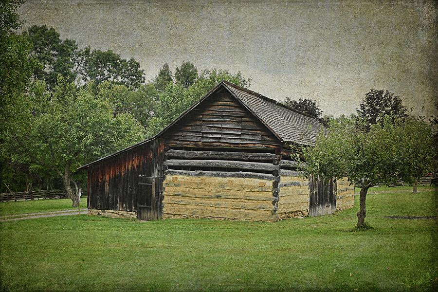 An Old Barn in Somerset PA by Guy Whiteley