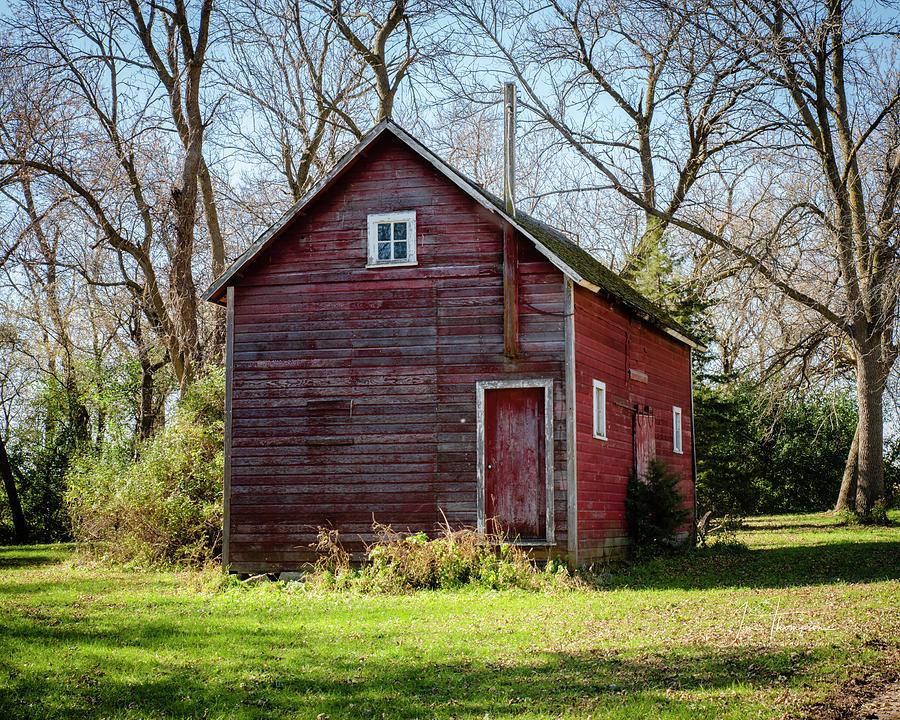 Farm Life Photograph - An Old Granary by Jim Thompson