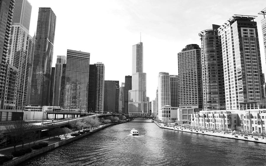 An Unknown Skyline Along The Chicago Photograph by Ricardo Montiel