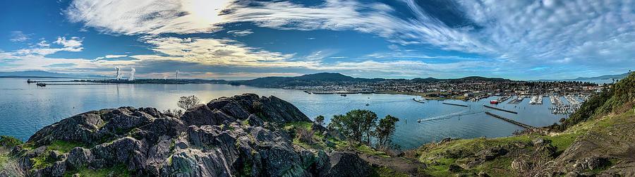 Marina Photograph - Anacortes Overlook by Tim Dussault